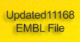 Updated 11168 EMBL File